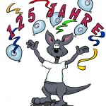 Werbecomic Känguru Jubiläum